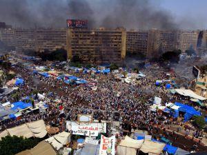 MISIR'DAKİ KATLİAMDAN ACI GÖRÜNTÜLER - VİDEO