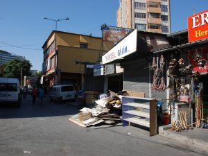 KAYSERİ'DE GEÇİCİ RUHSATLI 32 İŞYERİ KALDIRILDI