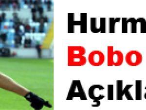 Hurma'dan Bobo Açıklaması