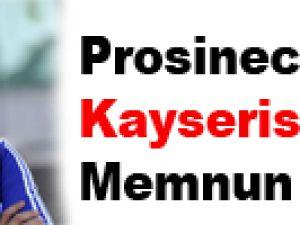 Prosinecki Kayserispor'dan Memnun