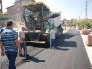 Mimarsinan Bölgesine 12.000 ton asfalt