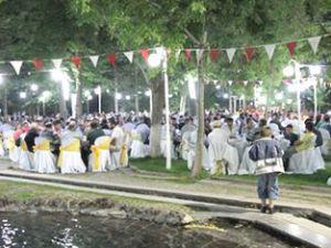 Develi'de 2 bin kişi birlikte orucunu açtı