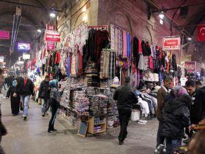 Kayseri'de Alışveriş telaşı başladı