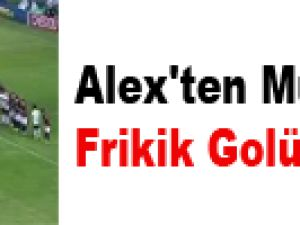 Alex'ten Muhteşem Frikik Golü - VİDEO