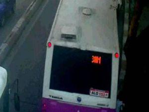 Otobüs İle Ağaç Arasına Sıkışıp Öldü-Video