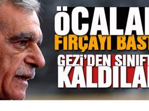 Öcalan'ın BDP'ye Gezi Parkı Fırçası