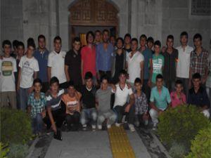 Talaslı Gençlerden Uyuşturucuya Hayır Kampanyası