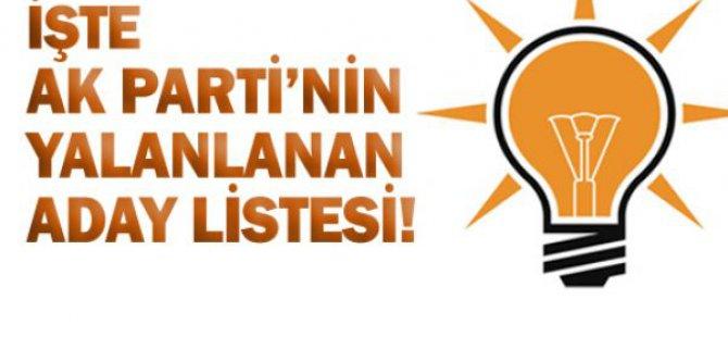 AK Parti İlçe adaylarını açıkladı