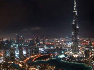 Dubai Yeni Yılı  Şölenle Karşıladı