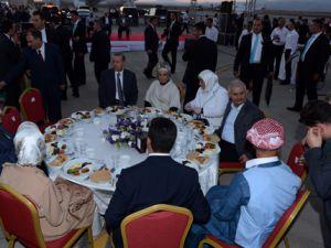 Başbakan Erdoğan Uludereli Ailelerle İle İftarda Buluştu