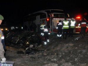 İncesu'da Trafik Kazası: 2 Yaralı