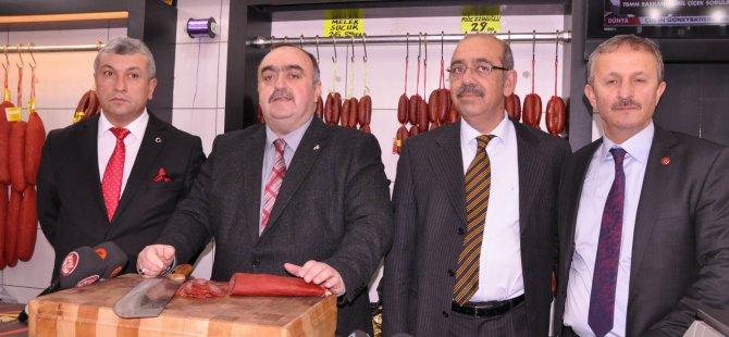 Kayseri MHP Adayları Esnafı Ziyaret etti
