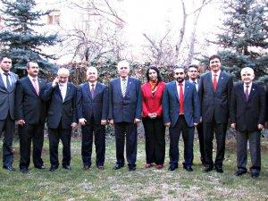 Kamalak, Kayseri Serbest Muhasebeci Mali Müşavirler Odası'nı Ziyaret Etti