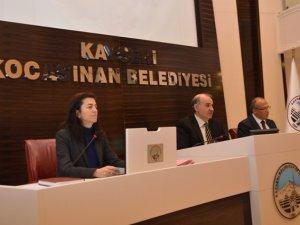 Kocasinan  Meclisi 2014'e Seçimle Başladı