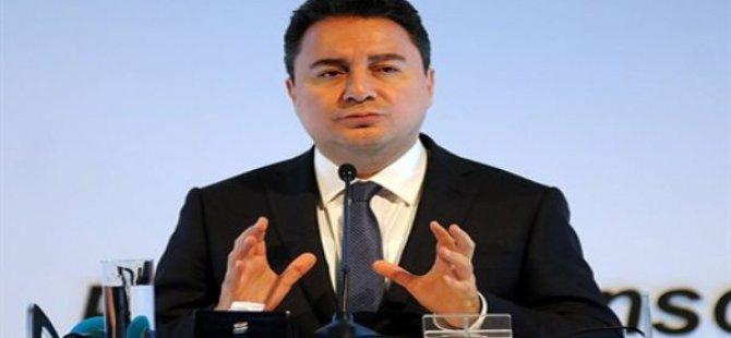 Ali Babacan'dan Halkbank açıklaması!