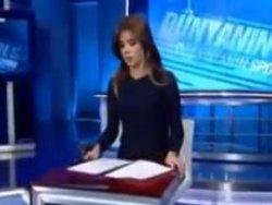 NTV GÜZEL SPİKERİ CANLI YAYINDA AĞLATTI