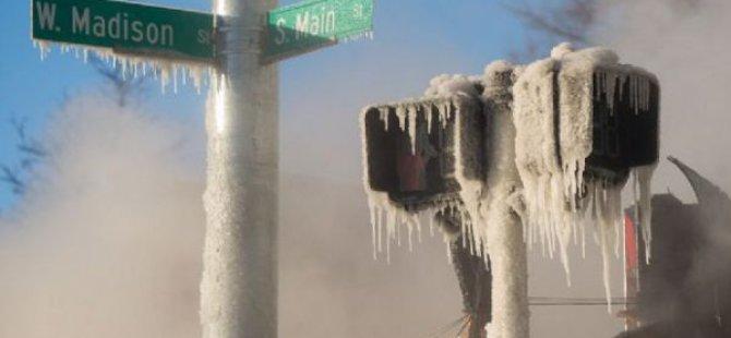 ABD'de 21 Kişi Aşırı Soğuklar Nedeniyle Öldü!