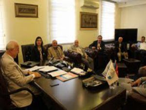 AK Parti milletvekilleri KTO'yu Ziyaret Etti