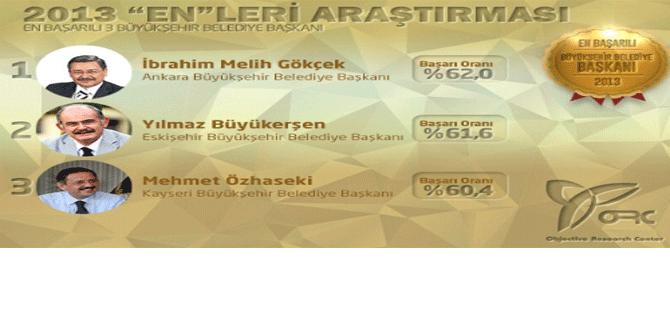 2013 Yılının En Başarılı Belediye Başkan Özhaseki