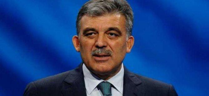 Abdullah Gül'den HSYK açıklaması geldi