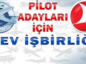 THK Üniversitesi'nden, THY'de iş garantili pilot eğitimi!