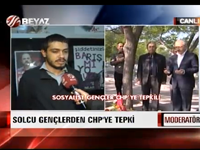 Solcu gençlerden CHP'ye tepki - VİDEO