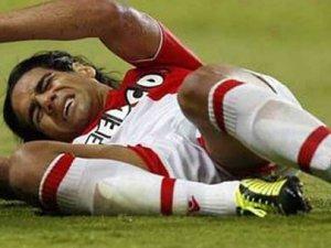 Monaco'lu Falcao'nun şok sakatlığı