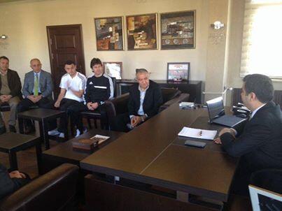 Vali Düzgün Kayserispor Tesislerini Ziyaret Etti