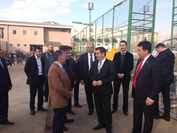 Vali Düzgün Erciyesspor Tesislerini Ziyaret Etti