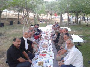 KAYSERİ ÜLKÜ OCAKLARI BAŞKANI SELİM GÜMÜŞ, YAHYALI'DA İFTARA KATILDI