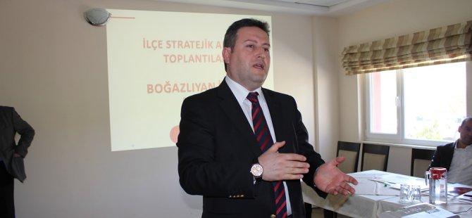 Palancıoğlu Talas için Projelerinin olduğunu söyledi