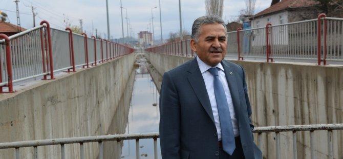 Melikgazi Belediye Başkanı  Büyükkılıç,Melikgazi belediyesi olarak: