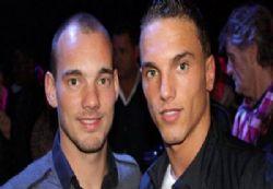 Rodney Sneijder Erciyes'te deneniyor