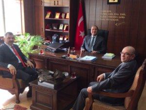 Mustafa Çelik Kocasinan Kaymakamını ziyaret etti