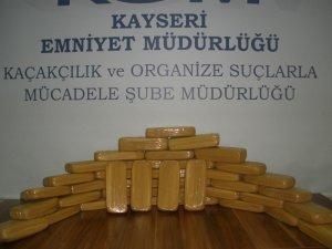 KAYSERİ'DE UYUŞTURUCU OPERASYONU