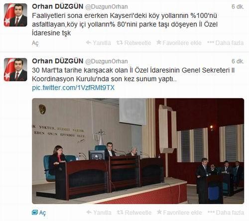 KAYSERİ'DEKİ KÖY YOLLARININ YÜZDE 100'Ü ASFALTLANDI