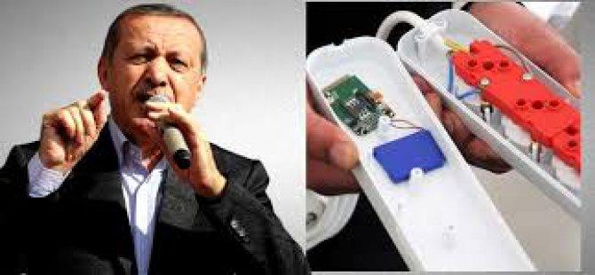 Başbakan Erdoğan'ın evindeki böcek