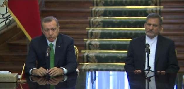 Erdoğan-Cihangiri toplantısında tercüme krizi