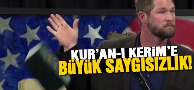 Eski Asker Kur'an-ı Kerim'i yere fırlattı!