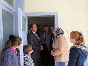 Kocasinan Kaymakamlığından Suriyeli Aileye Ziyaret