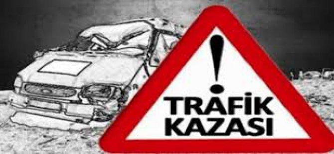 Kayseri Erciyes'te 9 araç  birbirine girdi
