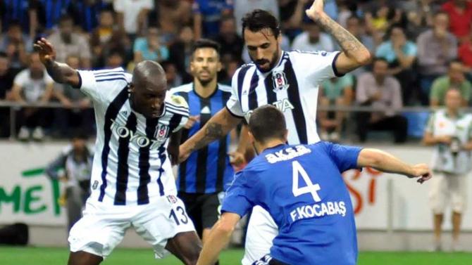 Beşiktaş, Erciyesspor'a kaybetmedi!