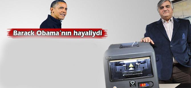 Türk mucit obaman'ın hayalini gerçekleştirdi
