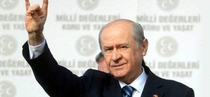 Bahçeli'den Başbakan'a Barzani göndermesi!