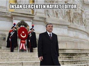 Gül'den dikkat çeken AVM tweeti