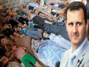 Esed'in Katliam silahları ölüm saçıyor