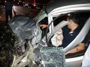 İmralı Cezaevi müdürü trafik kazası geçirdi - VİDEO
