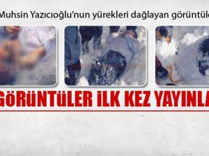 Muhsin Yazıcıoğlu kar altında-VİDEO