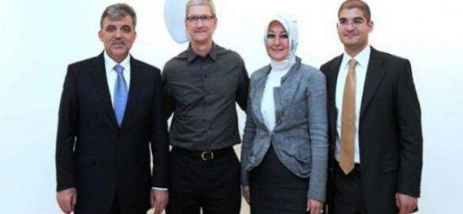 Apple'ın patronu Tim Cook, Cumhurbaşkanı ile görüşecek!