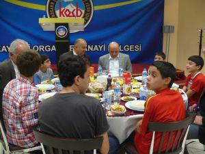 """""""SICAK YUVAMIZDA BULUŞALIM"""" PROJESİNE KAYSERİ OSB EV SAHİPLİĞİ YAPTI"""